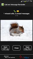 Screenshot of Smart Call Reminder