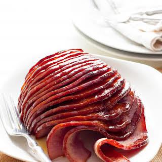 Slow Cooker Honey-Glazed Ham.