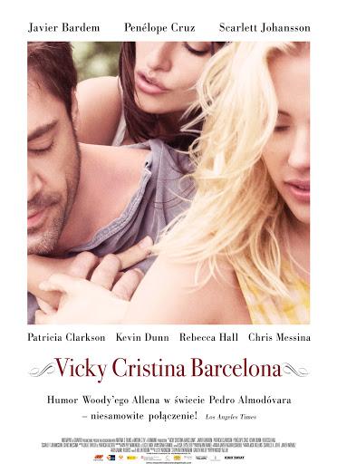 Polski plakat filmu 'Vicky Cristina Barcelona'
