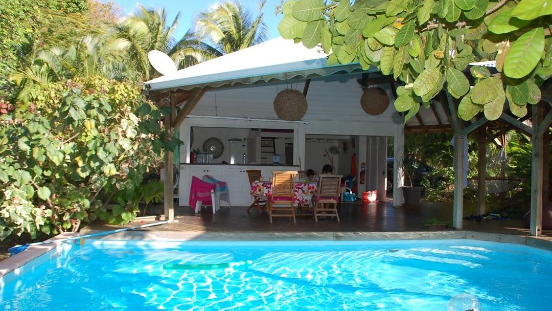 location villa avec piscine guadeloupe