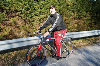 Photo: På sykkeltur nær Aure, april 2009