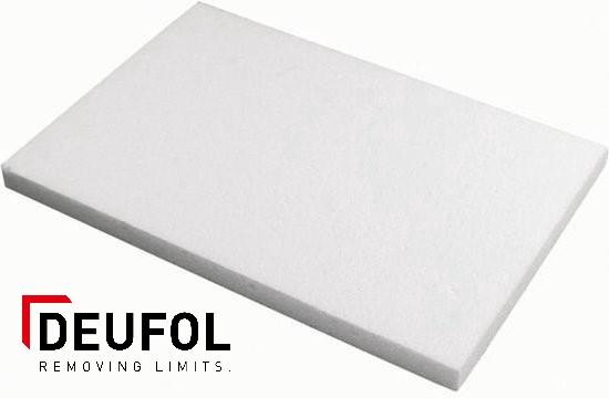 Polystyrene sheet 2000x1000x20 mm - white