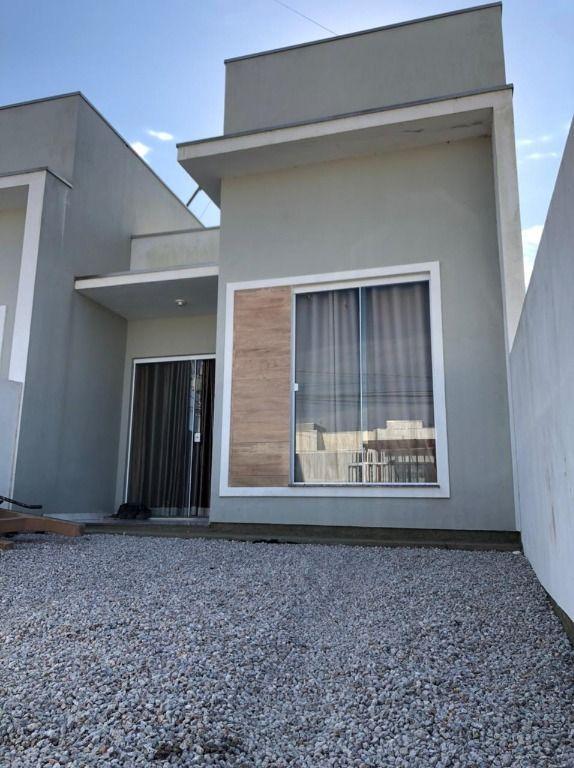 Casa com 2 dormitórios à venda, 62 m² por R$ 170.000 - Joaia - Tijucas/SC