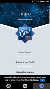Blue 3D - náhled
