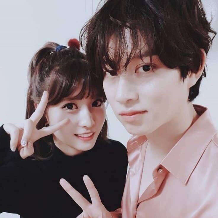 heechul and momo