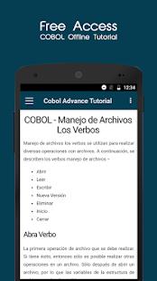 Cobol Spanish Tutorial - náhled