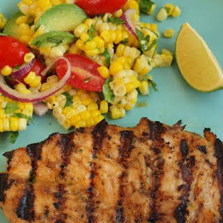 Grilled Tequila Lime Chicken.