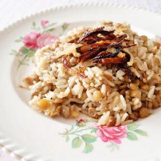 Lentils & Rice.