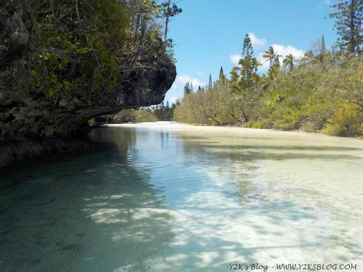Quasi arrivati alla piscina naturale della Baia di Oro - Isola dei Pini