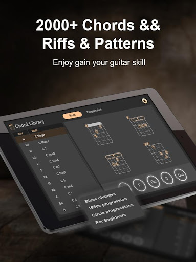 Real Guitar - Music game & Free tabs and chords!  screenshots 14