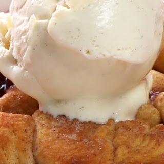 1. Grilled Mixed Berry Cobbler