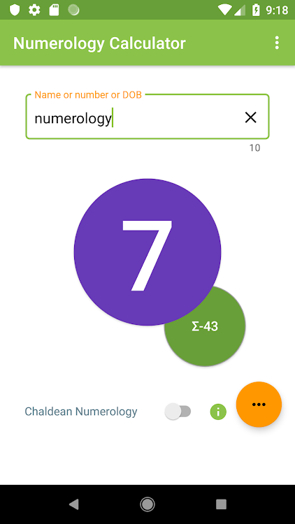 Numerology Calculator – (Android Apps) — AppAgg