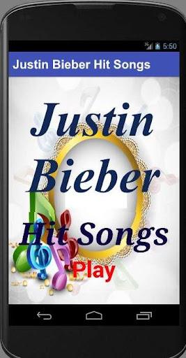 Justin Bieber Hit Songs