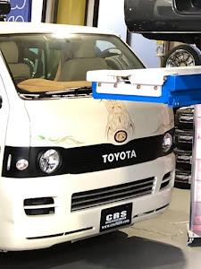 ハイエースバン TRH200V S-GLのカスタム事例画像 tohru.200kさんの2018年12月24日18:10の投稿