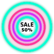 Neon Glow Rings – Icon Pack 5.1.0 APK