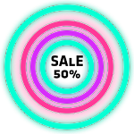 Neon Glow Rings - Icon Pack 4.0.0 (Patched)