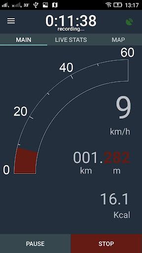 Bike Computer - GPS Cycling Tracker 2.8 screenshots 8