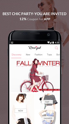 Rosegal-New Year, New Sale - screenshot