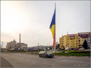 Photo: Turda - Piața Romană - Drapelul României - 2018.12.07