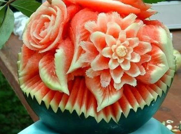 Minced Pork And Watermelon Lettuce Wraps Recipe