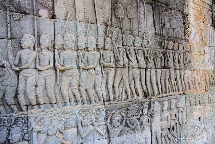 Храм Байон, Камбоджа