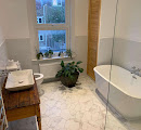 Bathroom converted by London Dream Lofts