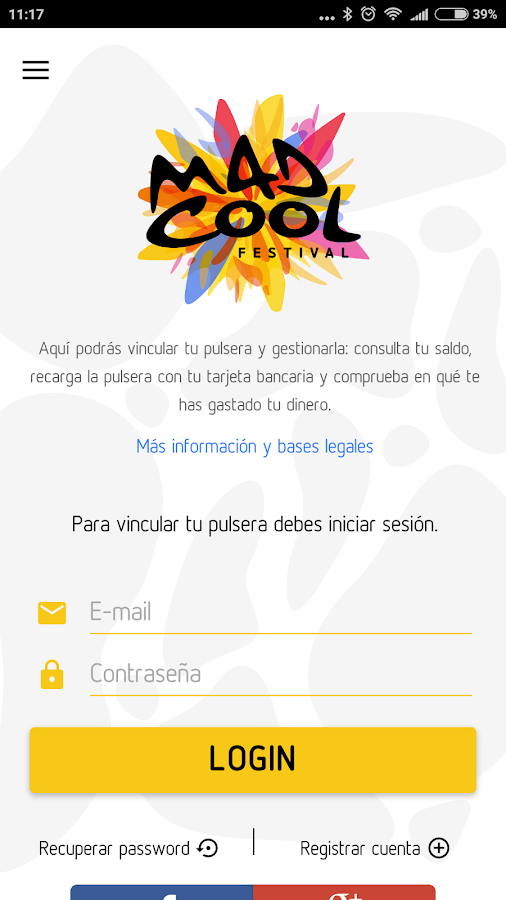 Mad Cool: captura de pantalla