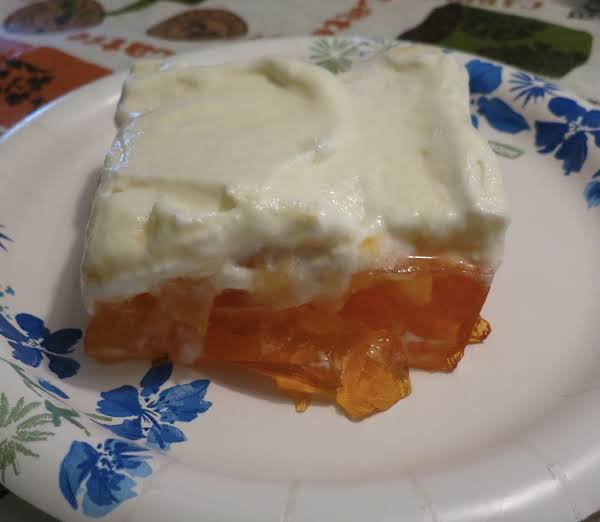 Frosted Orange Salad Recipe