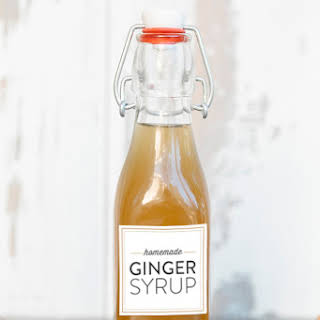 Ginger Syrup Cocktail Recipes.