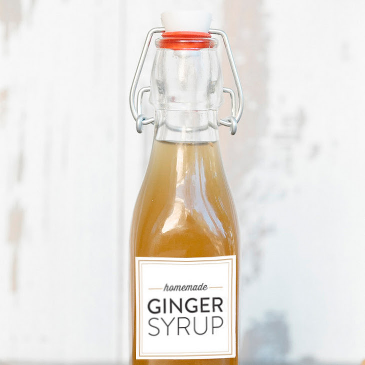Homemade Ginger Syrup & Ginger Cocktail Recipes Recipe