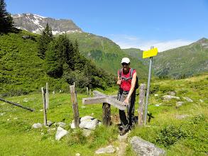 Photo: Peter-Sika-Weg zum Knappenbäudlsee