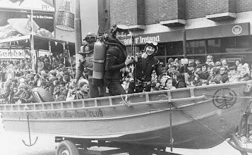 Photo: Club Float, St. Patrick's Day 1979