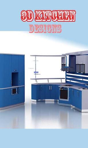3D Kitchen Designs