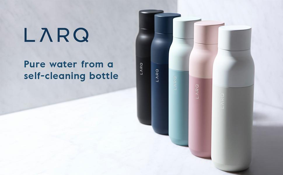 Kết quả hình ảnh cho The LARQ Self-Cleaning Water Bottle