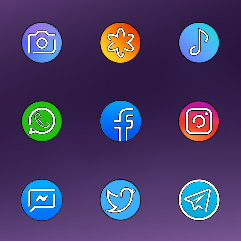 PIXEL GALAXY - ICON PACK Screenshot 4