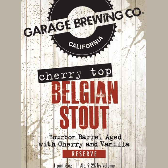 Logo of Garage Cherry Top Belgian Stout