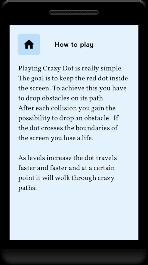 Crazy Dot - screenshot