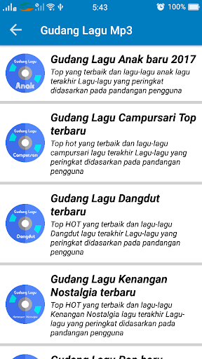 Gudang Lagu Mp3 2017 for PC