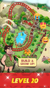 Stone Park: Prehistoric Tycoon MOD APK 1.4.2 (Unlimited Gold Coins) 2
