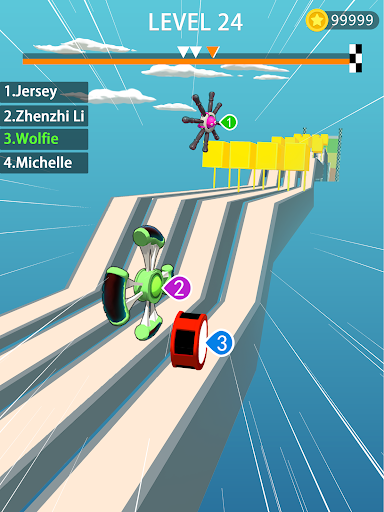 Wheels Run 3D 1.1.9 screenshots 1