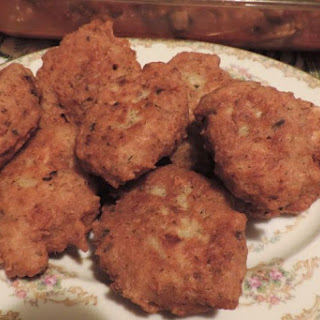 Old South Salmon Croquettes.