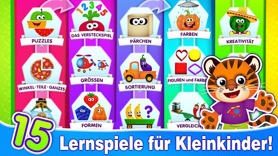 kindergarten lernspiele f r kinder ab kinderspiele apps bei google play. Black Bedroom Furniture Sets. Home Design Ideas