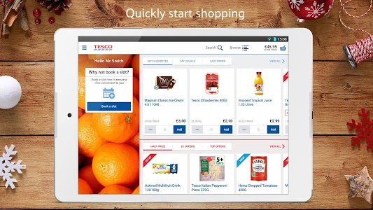 Tesco Groceries : Food Shop screenshot 0