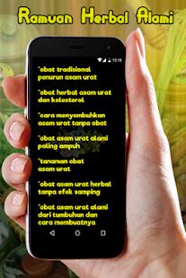 Ramuan Herbal Untuk Asam Urat Alkalmazasok A Google Playen