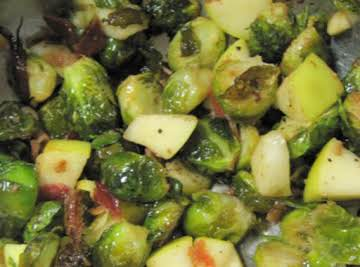 Super-Easy & Delicious Brussels Sprouts Salad