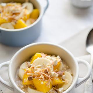 Chai Mango Banana Oatmeal