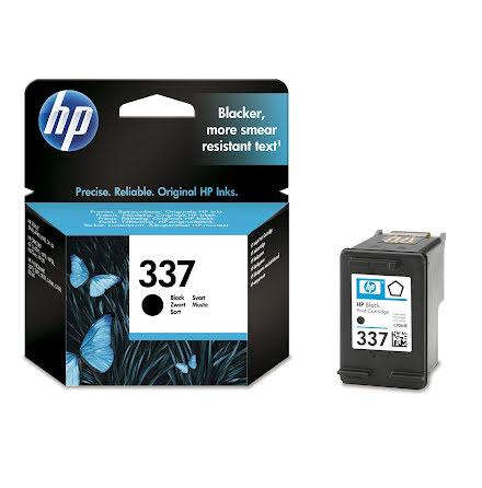 Bläckpatron HP No337     svart