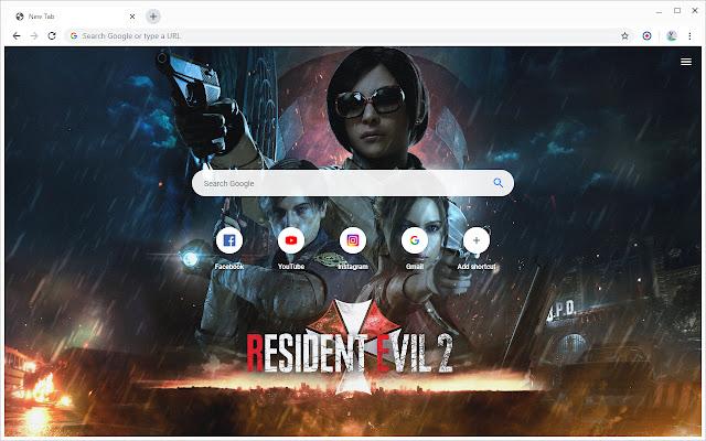 New Tab - Resident Evil 2