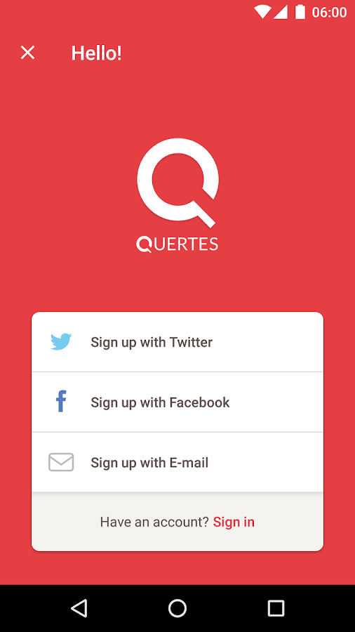 Quertes- screenshot
