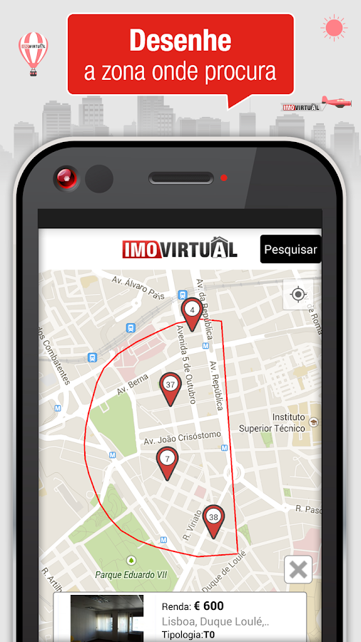 Imovirtual - Real Estate- screenshot